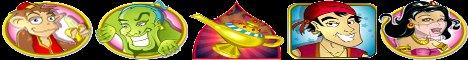 Aladdin's Wishes Slot Machine Logo