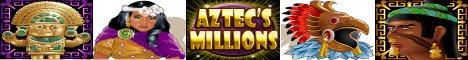 Aztec's Millions Slot Machine Logo