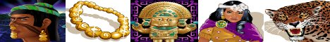 Aztec's Treasure Feature Guarantee Slot Machine Logo
