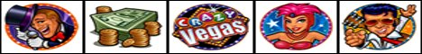Crazy Vegas Slot Machine Logo