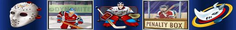 Hockey Hero Slot Machine Logo