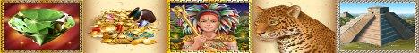 Mayan Queen Slot Machine Logo