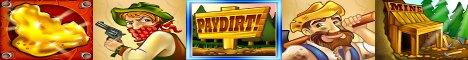 PayDirt Slot Machine Logo