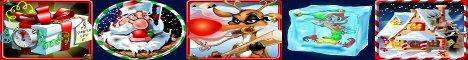 Rudolph's Revenge Slot Machine Logo