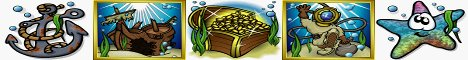 Sunken Treasure Slot Machine Logo